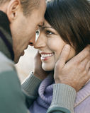 Couple Looking Into Each Other's Eyes Stock Photo