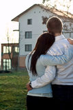 Couple looking for a home Stock Image
