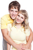 Couple in love. A portrait of a beautiful caucasian couple in love Royalty Free Stock Photography