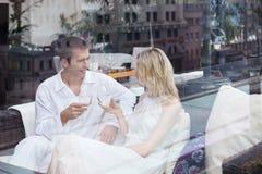 A couple in love Stock Photos