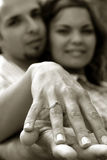 Couple in Love. A young couple in love Royalty Free Stock Photography
