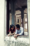 Couple In Love. Happy young asian couple in love Stock Photography