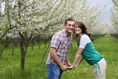 Couple in Love stock image