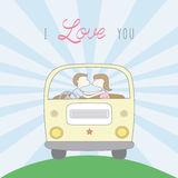 Couple in love3 Royalty Free Stock Photos
