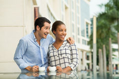 Couple in-love Stock Images