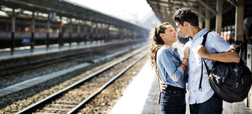 Couple Love Dating Togetherness Happiness Concept Royalty Free Stock Image