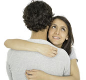 This couple love each other Royalty Free Stock Image