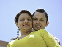 This couple love each other Stock Photos