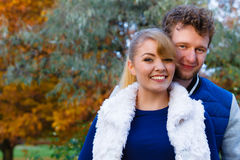 Couple in love enjoy romantic date Royalty Free Stock Photo