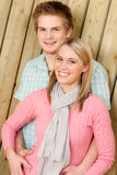 Couple in love - happy  enjoy summer Royalty Free Stock Image