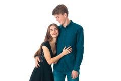 Couple in love having fun Stock Photos