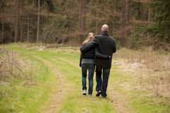Couple in love, Holland Royalty Free Stock Image