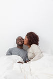 Couple in love laughin Stock Photos