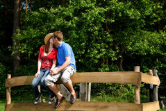 Couple love nature. Young handsome couple, man and woman in love, nature setting royalty free stock photos