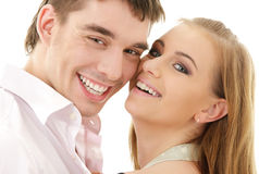 Couple in love Stock Photography