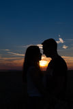 A couple in love. Stock Image