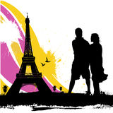 Couple love vector Stock Photography