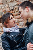 Couple in love views Royalty Free Stock Photo
