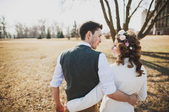 Couple in love Stock Images