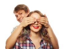 Couple in love. Royalty Free Stock Photos