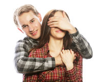 Couple in love. Royalty Free Stock Photography