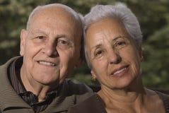 couple lovely senior στοκ εικόνα
