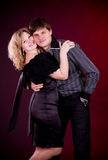 Couple of lover man and woman Royalty Free Stock Images