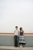 Couple of lover unhappy Royalty Free Stock Photos