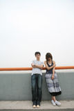 Couple of lover unhappy Royalty Free Stock Image