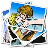 Couple of lovers Stock Images