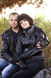 Couple of lovers Stock Photography