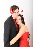 Couple of lovers Royalty Free Stock Image