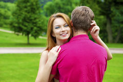 Couple Loving Stock Photography