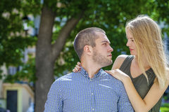 Couple Loving Royalty Free Stock Photography