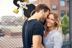 Couple loving each other Royalty Free Stock Photography
