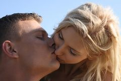 Couple making love Royalty Free Stock Photos