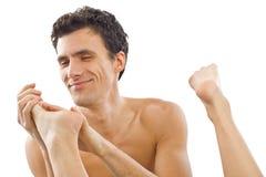 Couple massage Royalty Free Stock Images