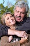 couple mature smiling στοκ φωτογραφίες