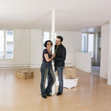Couple moving in Stock Photography