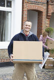 Couple Moving House Stock Images
