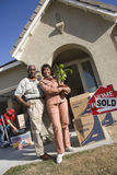 Couple Moving To Their New House Royalty Free Stock Photo