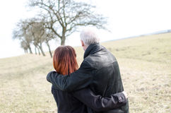 Couple in the nature Stock Photos