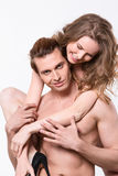 Couple nudity Stock Photo