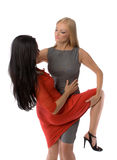 Couple Of Hot Ladies Royalty Free Stock Photography