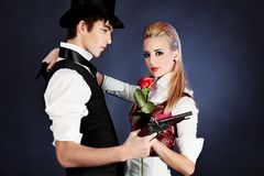 Free Couple Of Lovers Stock Photos - 13290353
