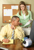 Couple in Office Stock Photos