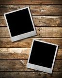 Couple Old Polaroid Photo Frame Stock Photography