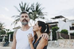 Free Couple On A Honeymoon Trip Royalty Free Stock Images - 117272389