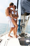 Couple On Cruise. Royalty Free Stock Images
