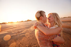 Free Couple On The Beach Royalty Free Stock Images - 27674279